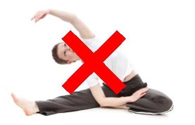 ストレッチ体操は怪我のリスクを高める !?