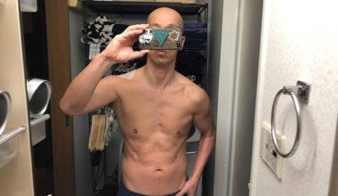 減量スタート時 4月15日 体重73キロ