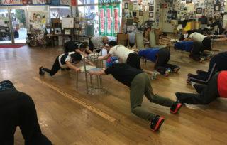 劇団空間演技のトレーニング指導