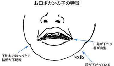 お口ポカンの子の特徴